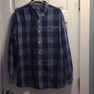 Chaps bottom down shirt